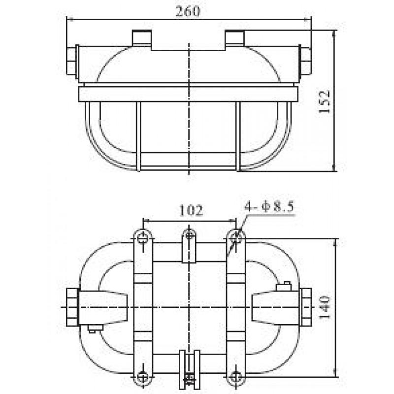 светильник RIP2-1-2А
