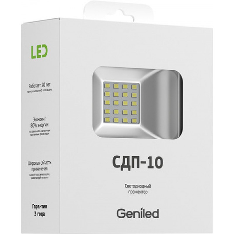 Прожектор Geniled СДП-10W IP65 4700K