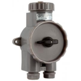 Выключатель с розеткой JSN2-4 (РШВ2-41)